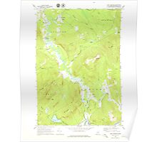 Maine USGS Historical Map East Andover 460370 1968 24000 Poster