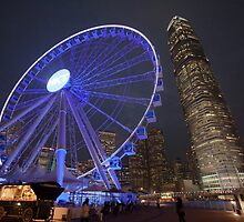 Hong Kong Eye by David Clarke