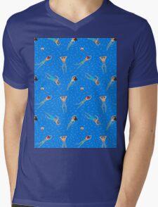 Swimming day Mens V-Neck T-Shirt