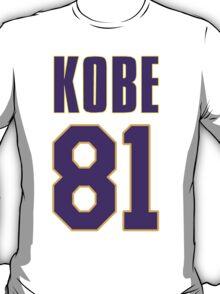 Kobe 81 Points T-Shirt