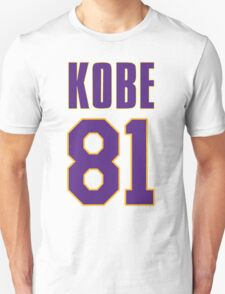 Kobe 81 Points T-Shirt