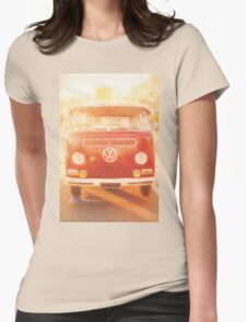 Artistic digital drawing of a VW Combie campervan T-Shirt