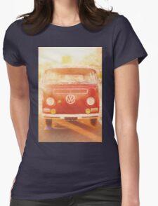 Artistic digital drawing of a VW Combie campervan T-Shirt
