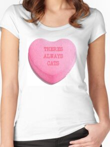 There's Always Cats Women's Fitted Scoop T-Shirt