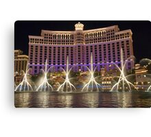 The Fountains of Bellagio Canvas Print