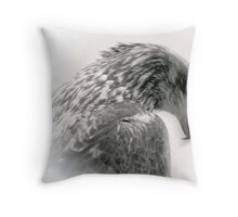 The Humbled King Throw Pillow
