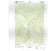 Maine USGS Historical Map East Andover 20110829 TM Poster