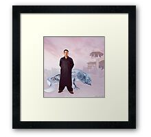 Captain Syed's Climate Controlled Sub-Zero Salwar Kameez Insulator Suit Framed Print