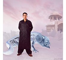 Captain Syed's Climate Controlled Sub-Zero Salwar Kameez Insulator Suit Photographic Print