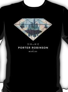 Porter Robinson Worlds Custom Merch T-Shirt