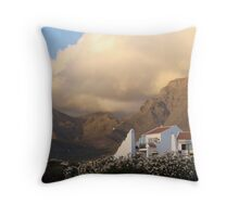 Imposing skyline Throw Pillow