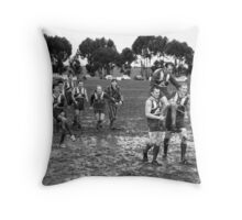 Winners Throw Pillow