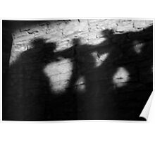 Shadows on the Wall Poster