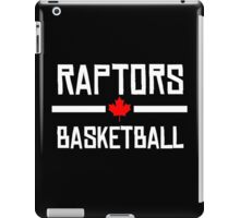 Raptors Basketball iPad Case/Skin