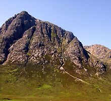 A Mountain In Scotland by Margaret Stevens