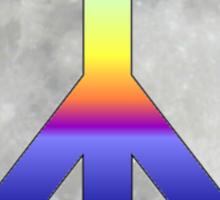 Peace Moon Sticker