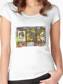 Movie Night Out! Women's Fitted Scoop T-Shirt