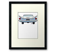 Buick Butt!  (White) Framed Print