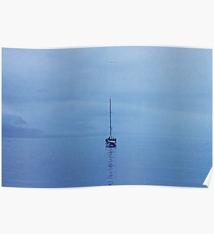 Reflections of a  Lone Sailor Poster