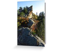 Pinnacle, Ute Valley Park, Colorado Springs, CO 2008 Greeting Card