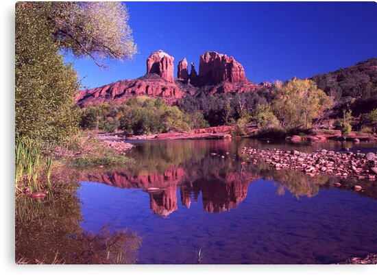 Reflections of Sedona by steveberlin