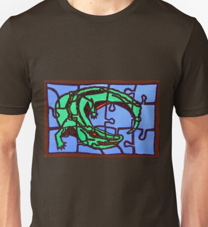 gator (pieces of the puzzle 2) Unisex T-Shirt