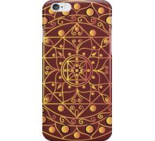 White mandala iPhone Case/Skin