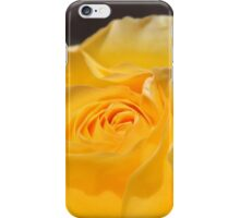 lovely, elegant yellow rose flower. floral nature photography. iPhone Case/Skin
