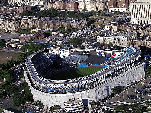 the old Yankee Stadium   by rudyrude