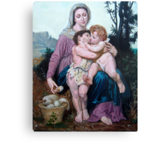 Saint Family after W. Bouguereau Canvas Print