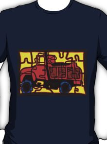 dump truck (pieces of the puzzle 1) T-Shirt