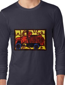 dump truck (pieces of the puzzle 1) Long Sleeve T-Shirt