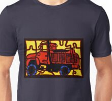 dump truck (pieces of the puzzle 1) Unisex T-Shirt