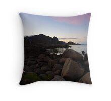 A night in the Lofoten Islands Throw Pillow