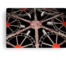 Catherine Wheel Canvas Print