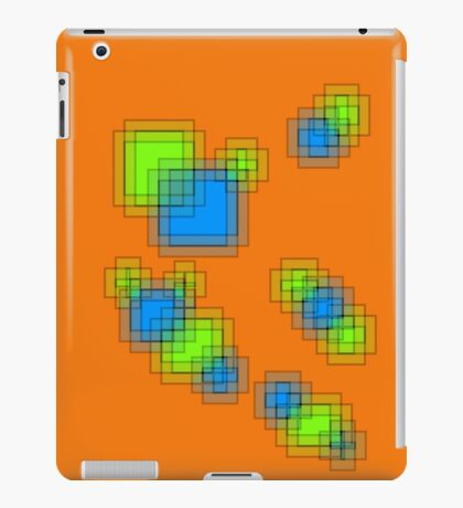 Abstract pixels iPad Case/Skin