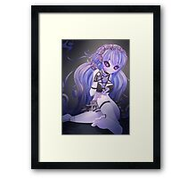 Gothic little ghost Framed Print