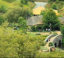 Where Hobbits Dwell ( 3 )   Anyone for a pint at the Green Dragon by Larry Lingard-Davis
