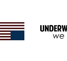 """House of Cards - """"In Underwood We Trust"""" v.white by SnarkySharkPup"""