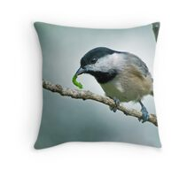 Early bird gets the worm . . . Throw Pillow