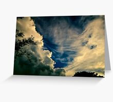 Eerie skyscape Greeting Card