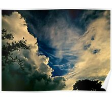 Eerie skyscape Poster