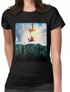 Bioshock Two Worlds Collide Womens Fitted T-Shirt
