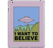 The Springfield Files iPad Case/Skin