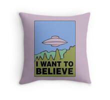 The Springfield Files Throw Pillow