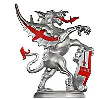 The Dragon - Symbol of the City of London  Photographic Print