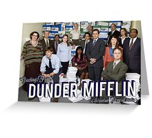 Greetings From Dunder Mifflin! Greeting Card