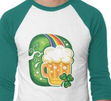 Clover - St Patricks Day Men's Baseball ¾ T-Shirt