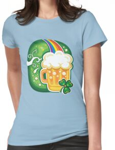 Clover - St Patricks Day Womens Fitted T-Shirt