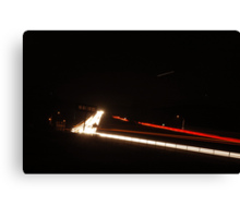 680 freeway passing through Livermore Canvas Print